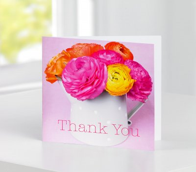 Thank You Greetings Card Code C08471ZF