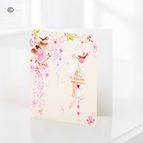 Pretty Flowers – Blank Greetings Card Code: C08481ZF