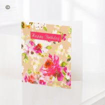 Happy Birthday Greetings Card C08451ZF