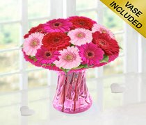 Germini Blush Vase Code: JGF69551GMB Local Delivery Only