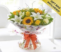 Magnificent Joy Hand-tied Code: A72291MS | Local Delivery Only