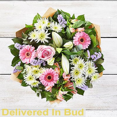 Happy Birthday Country Garden Hand Tied Code C08121MS