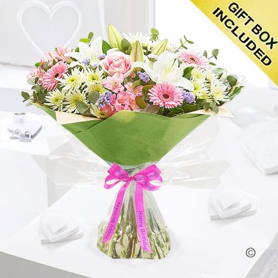 Happy Birthday Country Garden Hand-tied Code: C08121MS
