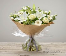 White Radiance Sympathy Hand-tied Code: C06981WS | National and Local Delivery