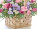 Scented Pink and Lilac Basket Code: C10010PS