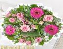 Get Well Pink Endearment Hand-tied Code:JGFG15300EH  | Local Delivery Or Collect From Shop Only