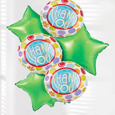 Thank You Balloon Bouquet Code: JGFT50792BB | Local Delivery Only