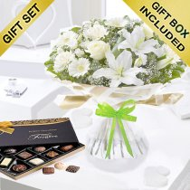 Enchanting Get Well Hand-tied with Luxury Chocolates  Code:JGFG25301WEHC | Local Delivery Or Collect From Shop Only