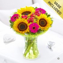 Summer Vibrant Sunflower Perfect Gift Code: JGF61711YS  | Local Delivery Or Collect From Shop Only