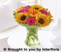 Large Summer Vibrant Sunflower Perfect Gift Code: H61712YS