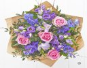 Precious Periwinkle Hand-tied Code: H64161MS | Local Delivery Or Collect From Shop Only