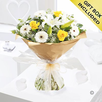 Sunshine Hand-tied Code: JGFY069851YS | Local Delivery Only