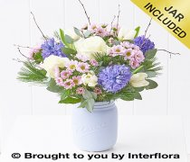 Large Scented Snowfall Jar Code: X89802MS
