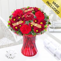 Christmas Wish Vase Code: JGFX90044CW  | Local Delivery Or Collect From Shop Only
