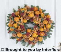 Clementine Door Wreath Code: X82881OS