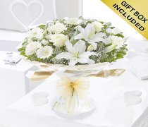 Enchanting Sympathy Hand-tied  Code:Code:JGFF0025300WEH| Local Delivery Only