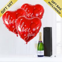 Love and Champagne Code: JGFV74ILC | Local Delivery Or Collect From Shop Only