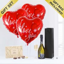 Love With Prossecco and Chocolates Code: JGFV742LPC | Local Delivery Or Collect From Shop Only