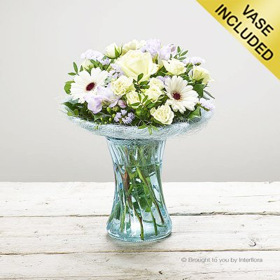 Blue Perfect Gift Vase Code: C00281BS