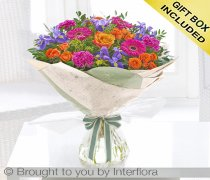 Blooming Brights Hand-tied Code: S33281VS | National and Local Delivery
