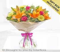 Happy Birthday Summer Sunshine Hand-tied Code: H63171VS | National and Local Delivery