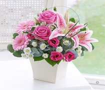 Pink Exquisite Arrangement Code: C00321PS