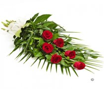 Simple Red Rose Sheaf Code: F13511RS | National and Local Delivery