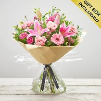 Pink Radiance Hand-tied  Code: C00350PS