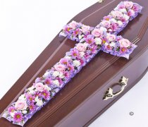 Classic Pink and Lilac Cross Code: F13080PS | National and Local Delivery