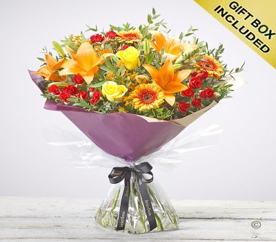 Autumn Golden Glory Handtied Code: JGFA73141MO | Local Delivery Or Collect From Shop Only
