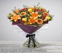 Large Autumn Golden Glory Handtied Code: A73142MO | National and Local Delivery