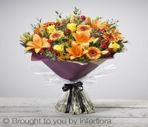 Extra Large Autumn Golden Glory Handtied Code: A73143MO | National and Local Delivery