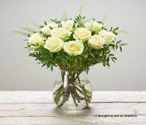 Sympathy Rose Vase Code: C14601WS | National and Local Delivery