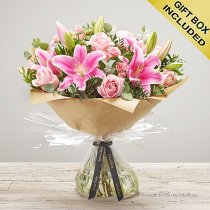 Pink Pop Hand-tied Code: C00411PO | National and Local Delivery
