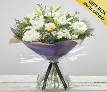 Winter Twinkling Whites Hand-tied Code: X89811WS | National and Local Delivery