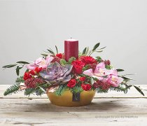 Festive Jewel Candle Arrangement Code: X90281MS