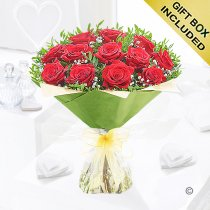 Heavenly Red Rose Hand-tied  Code: C00451RS | National and Local Delivery