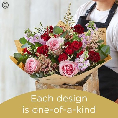 Florist Choice Hand-Tied Code: HT5S | National Delivery and Local Delivery Or Collect From Shop