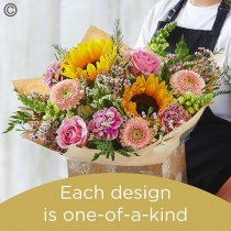 Florist Choice Hand-Tied Code: HT6S | National Delivery and Local Delivery Or Collect From Shop