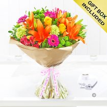 Thank You Vibrant Hand-Tied Code: JGF20381VHTY | Local Delivery Only