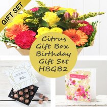 Happy Birthday Citrus Gift Box HBGB2 Code: JGFC18913GBHB | Local Delivery Or Collect From Shop Only