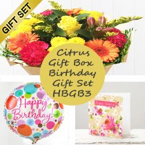Happy Birthday Citrus Gift Box HBGB3 Code: JGFC18918GBHB | Local Delivery Or Collect From Shop Only