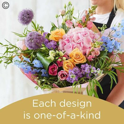Florist Choice Hand-Tied Code: HT9S | National Delivery and Local Delivery Or Collect From Shop