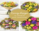 Spring Hand-tied Bouquet Code: SHTU1 | National Delivery and Local Delivery Or Collect From Shop
