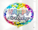 Happy Birthday Spring Brights Gift Box with a fun Happy Birthday Balloon Code: JGFS33411HBSBB | Local Delivery Or Collect From Shop Only