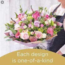 Mother's day pastels handtied Code: MDHTP6 | National delivery and local delivery or collect from shop