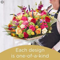 Mother's day brights handtied Code: MDHTB6 | National delivery and local delivery or collect from shop