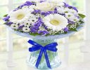 Congratulations Azure Vase Code: JGFCA928871BVBB | Collection Or Local Delivery Only