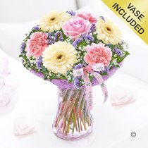 With love vase Code: JGF48020WLV | Local delivery or collect from shop only