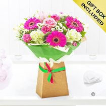 Summertime flower gift box Code: JGFS11STGB | Local Delivery Or Collect From Shop Only